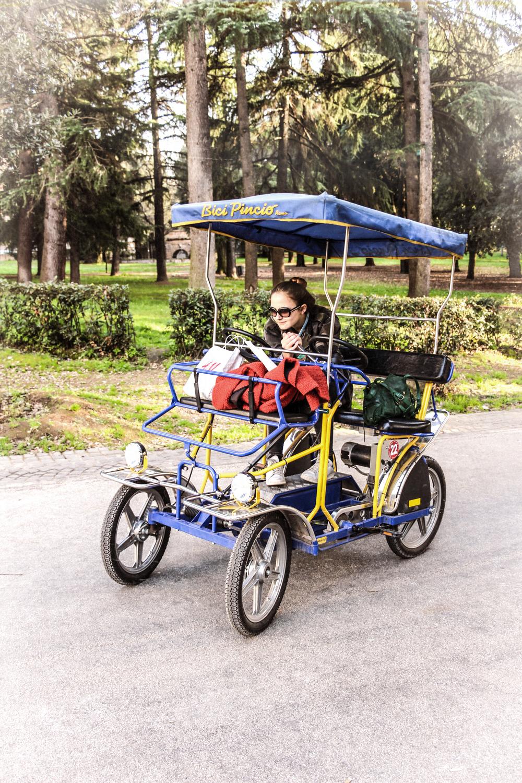 rome zoé bici parc medicis