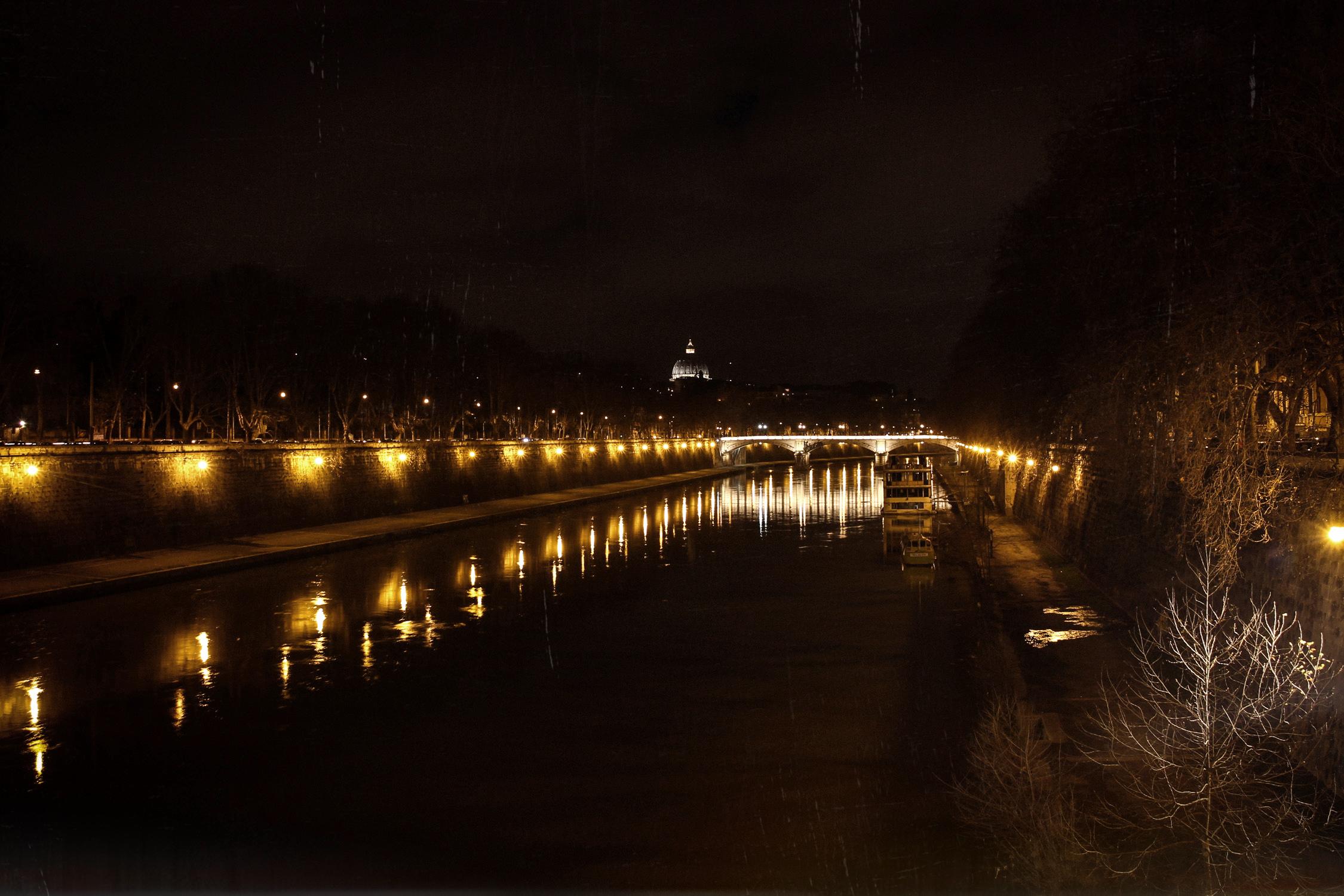 rome vue du ponte sisto