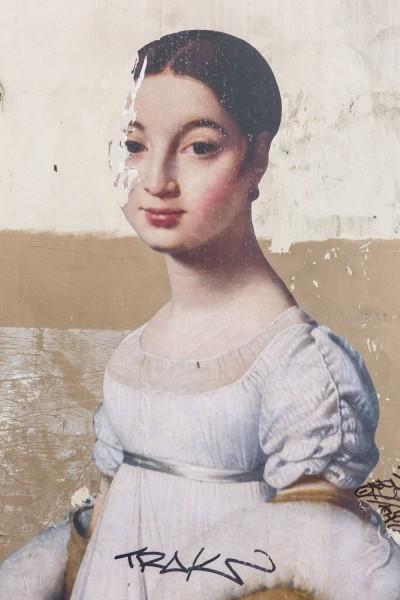 Portrait historique au tag parisien