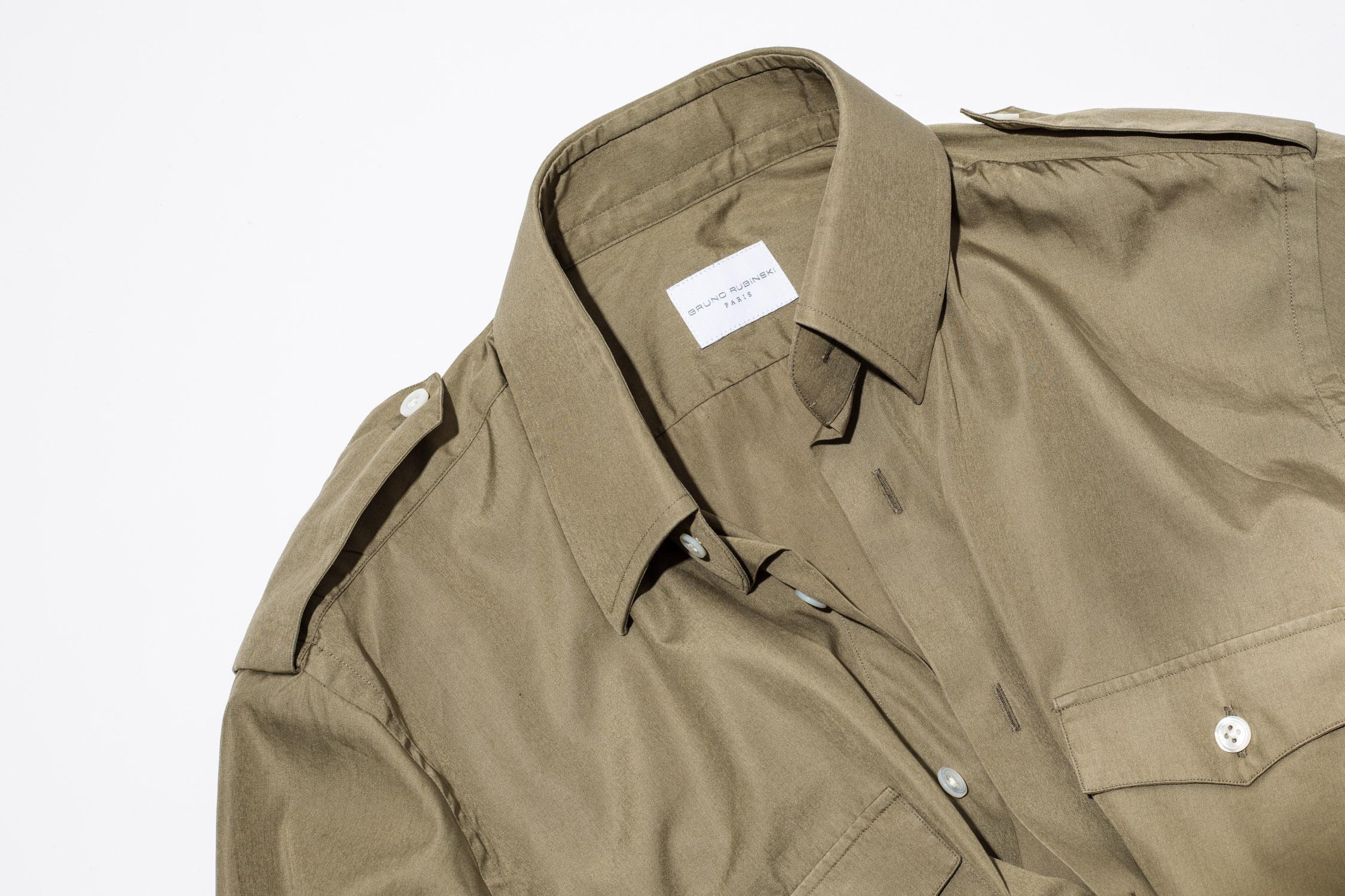 chemise bruno rubinski