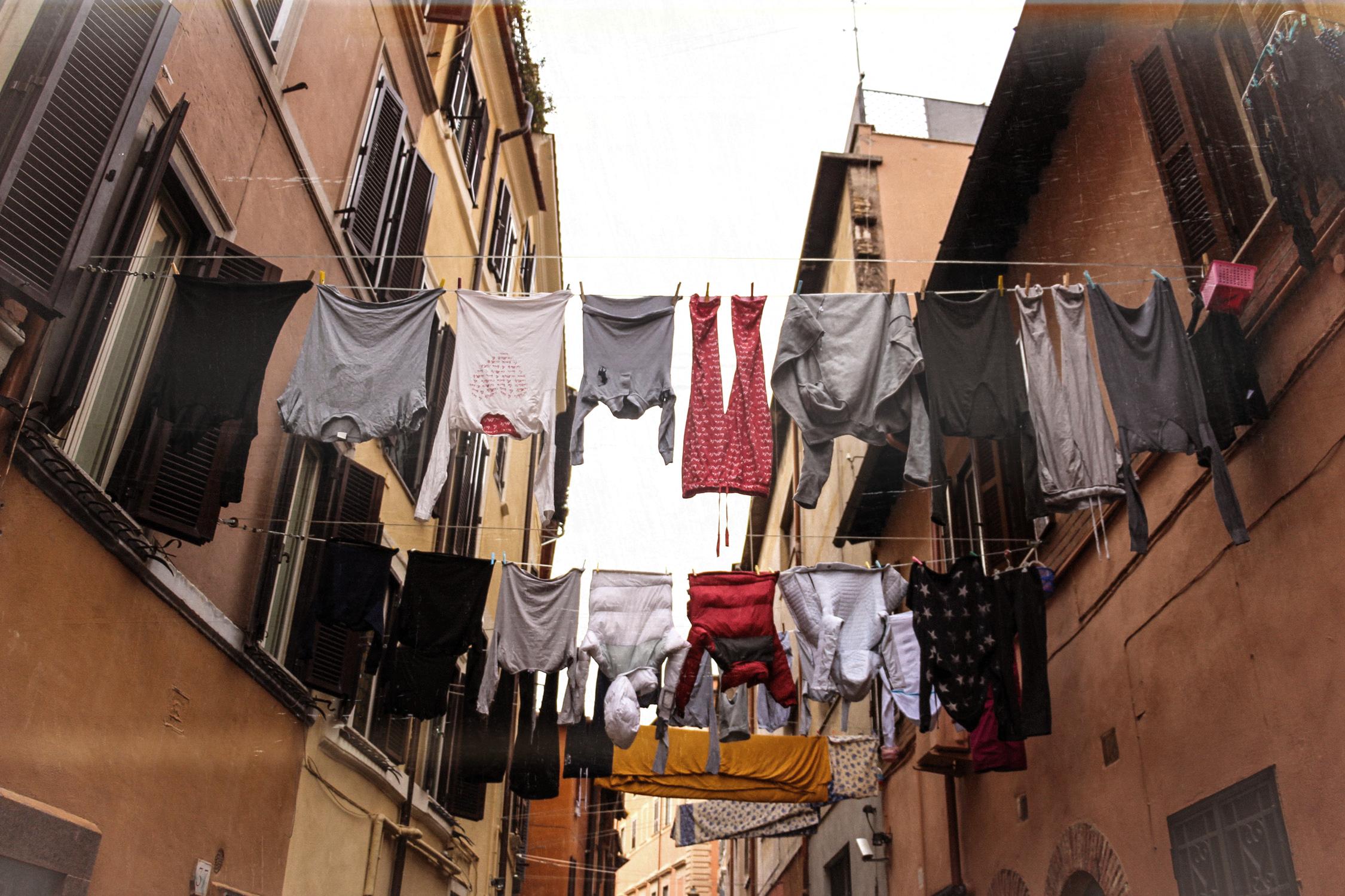 rome trastevere linge