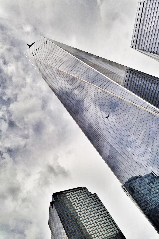 Manhattan new york wold trade center