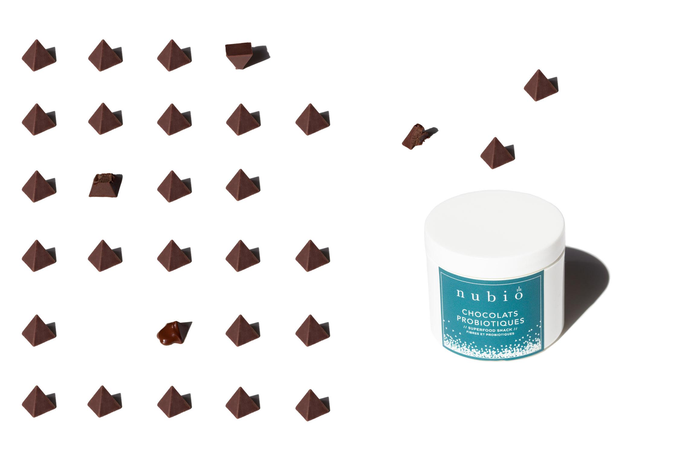 nubio chocolat probiotique