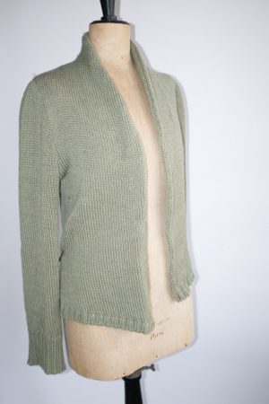 ISABEL MARANT Gilet en laine vert  T2 / 30€