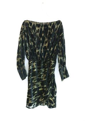 ZARA robe noir et doré T40 - 20€