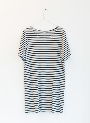 AMERICAN VINTAGE robe rayée T40 - 20€
