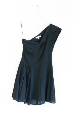 KATE MOSS robe noire asymétrique pour TOPSHOP robe T38 - 20€