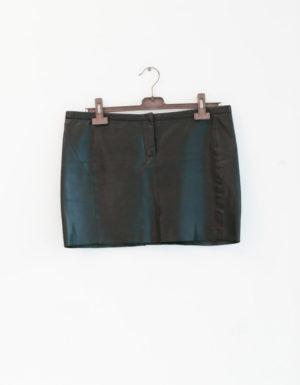 MAJE mini jupe cuir T40 - 40€