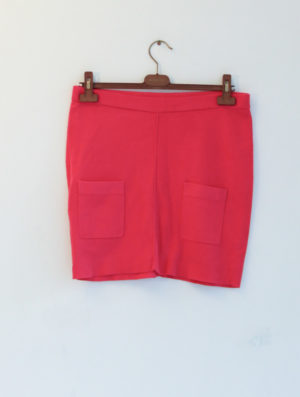 SONIA RYKIEL pour H&M jupe maille rose T40 - 20€