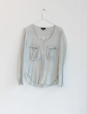 ISABEL MARANT chemise veste pale - T2 - 20€