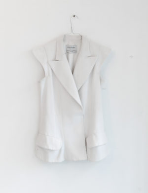 YVES Saint Laurent veste blanche- Pilati - T40 - 40€