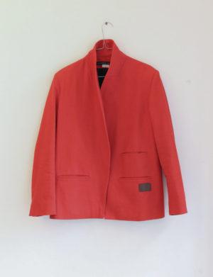 LES PRAIRIES DE PARIS veste rouge T40 - 40€
