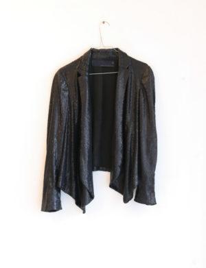 ZARA veste paillettes noires T40 - 20€